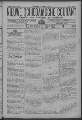 Nieuwe Schiedamsche Courant 1918-03-18