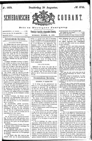 Schiedamsche Courant 1879-08-28