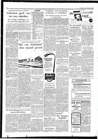 Rotterdamsch Parool / De Schiedammer 1955-10-13