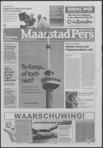 Maaspost / Maasstad / Maasstad Pers 2010-11-03