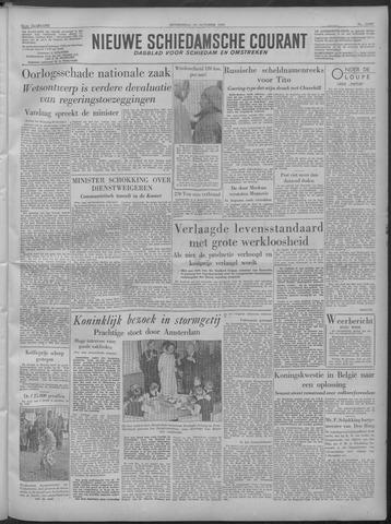 Nieuwe Schiedamsche Courant 1949-10-27