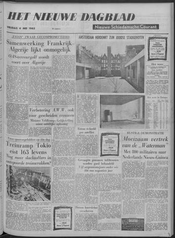 Nieuwe Schiedamsche Courant 1962-05-04