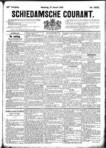 Schiedamsche Courant 1916-01-31