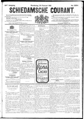 Schiedamsche Courant 1912-02-29