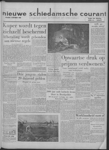 Nieuwe Schiedamsche Courant 1958-10-03