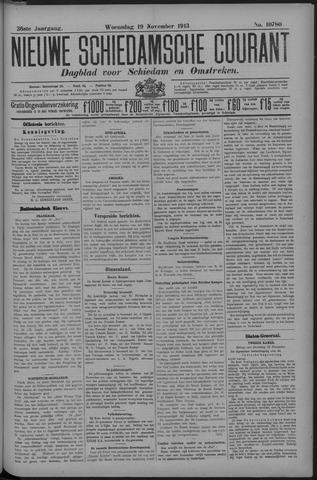 Nieuwe Schiedamsche Courant 1913-11-19