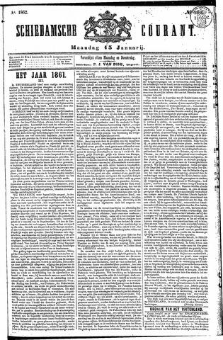 Schiedamsche Courant 1862-01-13
