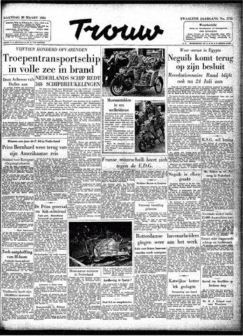 Trouw / De Rotterdammer 1954-03-29
