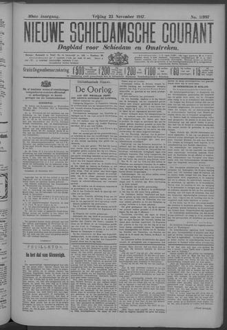 Nieuwe Schiedamsche Courant 1917-11-23