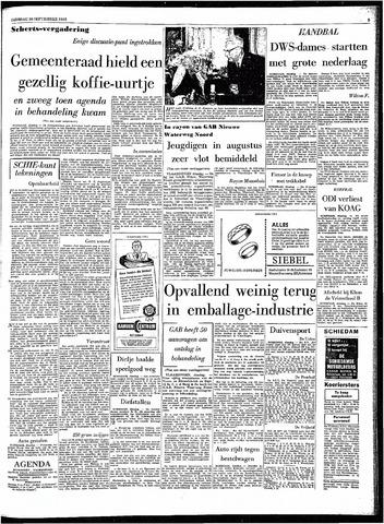 Rotterdamsch Parool / De Schiedammer 1963-09-10