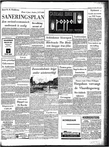 Rotterdamsch Parool / De Schiedammer 1963-11-16
