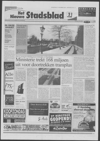 Het Nieuwe Stadsblad 2000-12-21