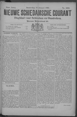 Nieuwe Schiedamsche Courant 1897-01-14