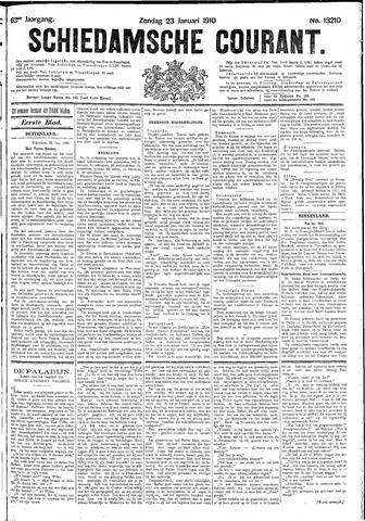 Schiedamsche Courant 1910-01-23