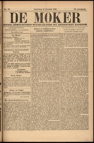 De Moker 1910-10-15