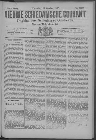 Nieuwe Schiedamsche Courant 1897-10-27