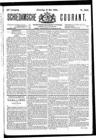 Schiedamsche Courant 1898-05-21