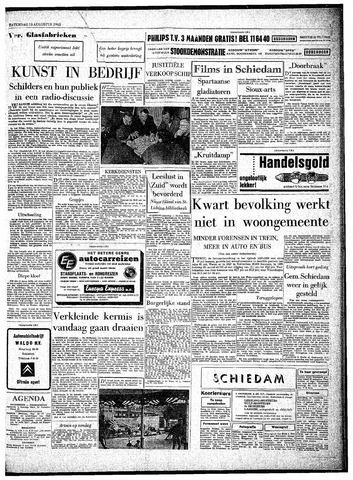 Rotterdamsch Parool / De Schiedammer 1963-08-10