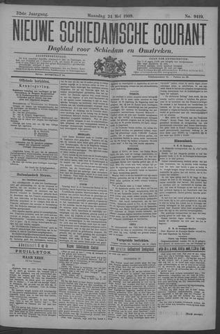 Nieuwe Schiedamsche Courant 1909-05-24