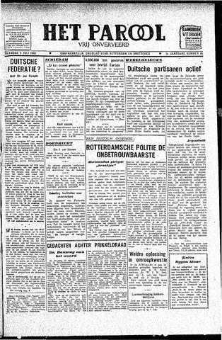 Rotterdamsch Parool / De Schiedammer 1945-07-09