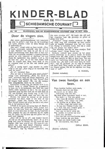 Schiedamsche Courant 1933-10-28