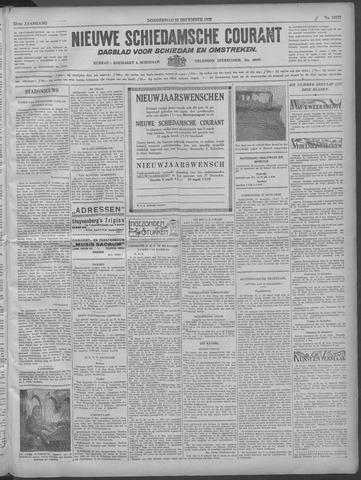 Nieuwe Schiedamsche Courant 1932-12-22