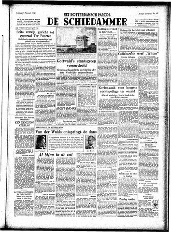 Rotterdamsch Parool / De Schiedammer 1948-02-27