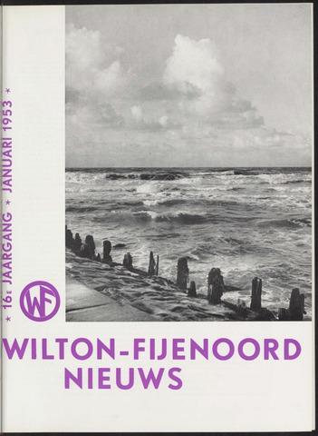 Wilton Fijenoord Nieuws 1953