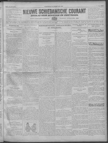 Nieuwe Schiedamsche Courant 1932-02-24