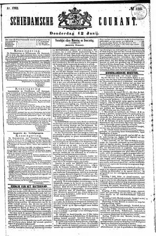 Schiedamsche Courant 1862-06-12