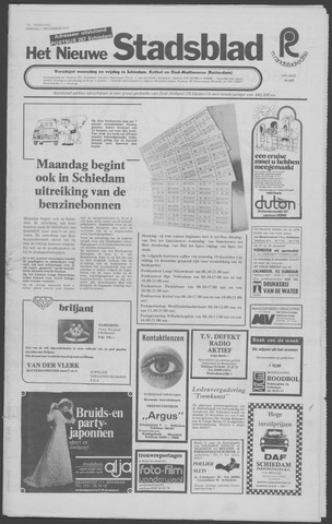 Het Nieuwe Stadsblad 1973-12-07