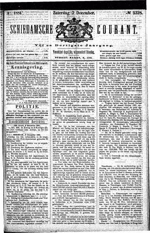 Schiedamsche Courant 1881-12-03