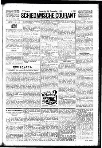 Schiedamsche Courant 1929-09-26