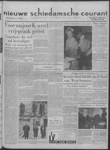 Nieuwe Schiedamsche Courant 1958-04-17