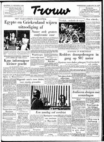 Trouw / De Rotterdammer 1956-08-13