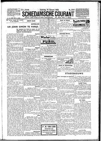 Schiedamsche Courant 1935-02-09