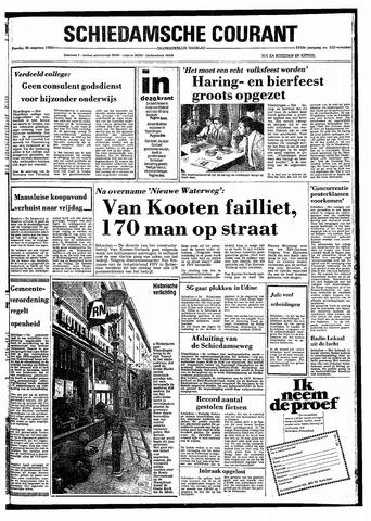 Rotterdamsch Nieuwsblad / Schiedamsche Courant / Rotterdams Dagblad / Waterweg / Algemeen Dagblad 1980-08-26