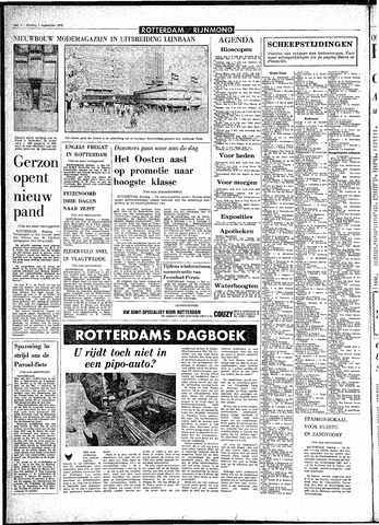 Rotterdamsch Parool / De Schiedammer 1970-09-01