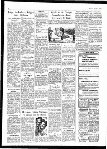 Rotterdamsch Parool / De Schiedammer 1955-07-23