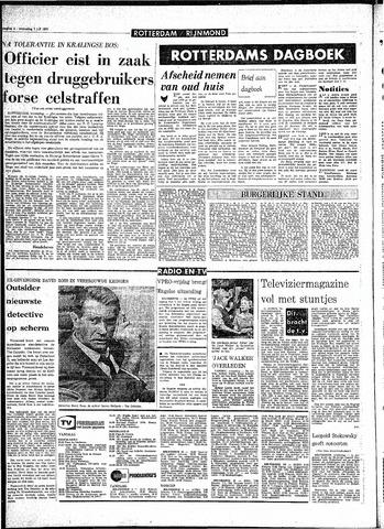 Rotterdamsch Parool / De Schiedammer 1970-07-01