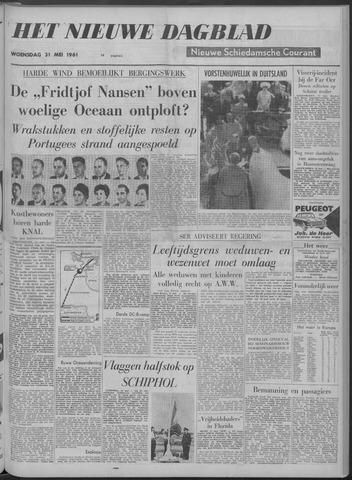 Nieuwe Schiedamsche Courant 1961-05-31