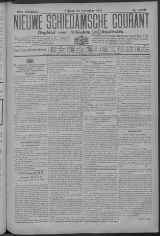 Nieuwe Schiedamsche Courant 1918-11-22