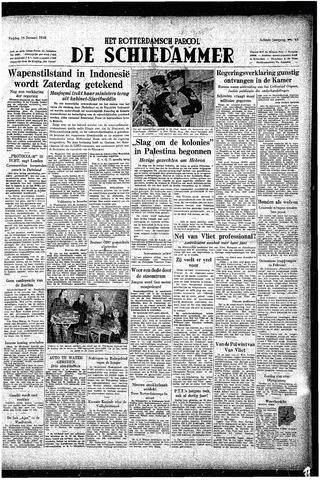 Rotterdamsch Parool / De Schiedammer 1948-01-16