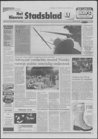 Het Nieuwe Stadsblad 2000-10-18