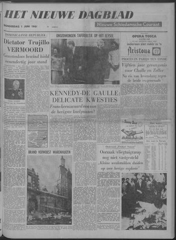 Nieuwe Schiedamsche Courant 1961-06-01
