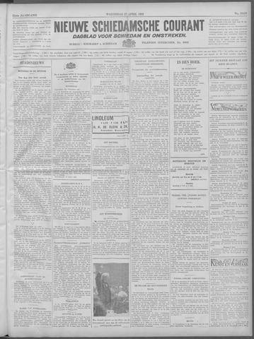 Nieuwe Schiedamsche Courant 1932-04-27