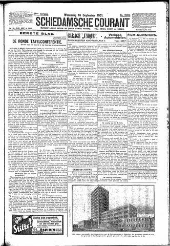 Schiedamsche Courant 1931-09-16