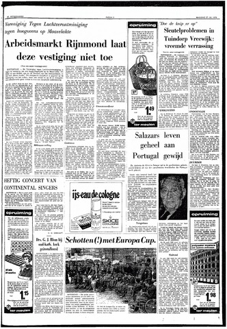 Trouw / De Rotterdammer 1970-07-27
