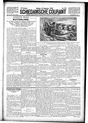 Schiedamsche Courant 1929-08-16