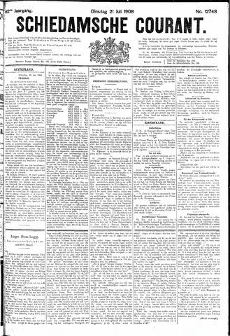 Schiedamsche Courant 1908-07-21